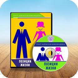 Алексей Коноводов тест Позиции жизни